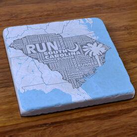South Carolina State Runner Stone Coaster