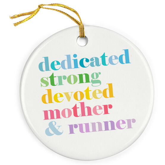 Running Porcelain Ornament - Mantra Mother Runner