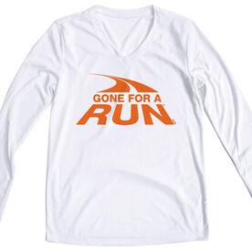 Women's Running Long Sleeve Tech Tee Gone For A Run