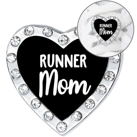 Running Shoelace Charm - Runner Mom