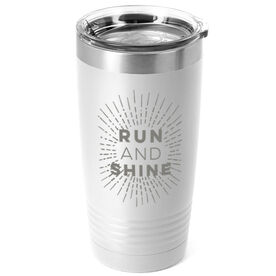 Running 20 oz. Double Insulated Tumbler - Run and Shine