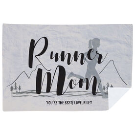 Running Premium Blanket - Runner Mom