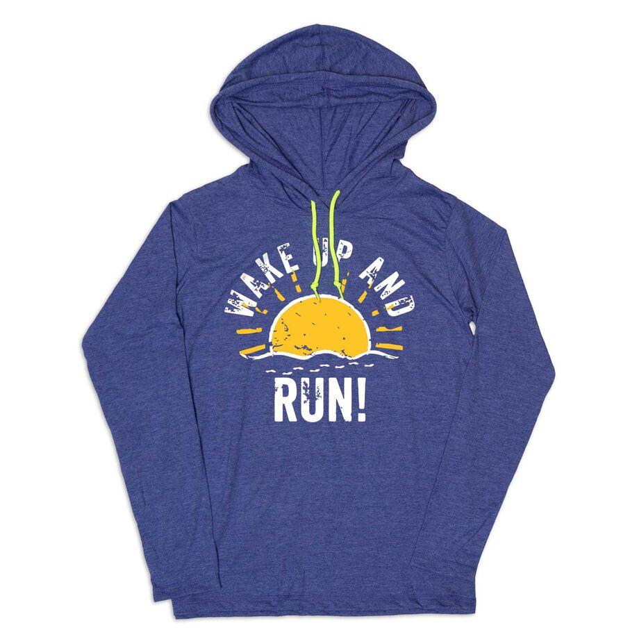 Women's Running Lightweight Hoodie - Wake Up And Run