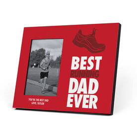 Running Photo Frame - Best Dad Ever