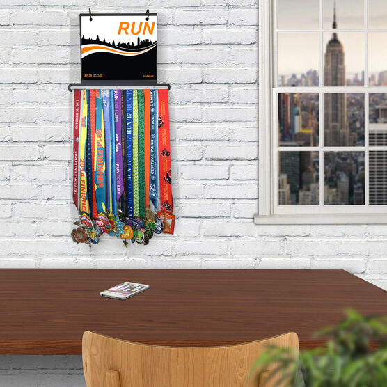 BibFOLIO+™ Race Bib and Medal Display RUN