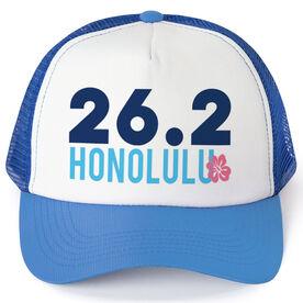 Running Trucker Hat - Honolulu 26.2