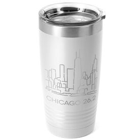 Running 20 oz. Double Insulated Tumbler - Chicago 26.2