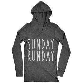 Women's Running Lightweight Performance Hoodie - Sunday Runday