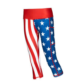 Running Performance Capris - USA