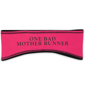 Running Reversible Performance Headband One Bad Mother Runner