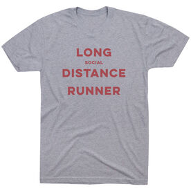 Running Short Sleeve T-Shirt - Long Social Distance Runner