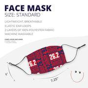 Running Face Mask - 26.2 Math Miles
