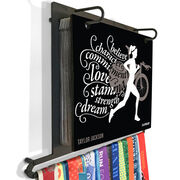 BibFOLIO+™ Race Bib and Medal Display - Believe Triathlon Girl