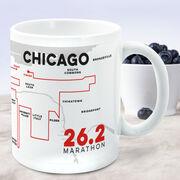 Running Coffee Mug - Personalized Chicago Map