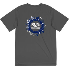 Men's Running Short Sleeve Performance Tee - Run for San Francisco