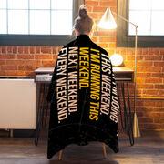 Running Premium Blanket - Don't Ask Me