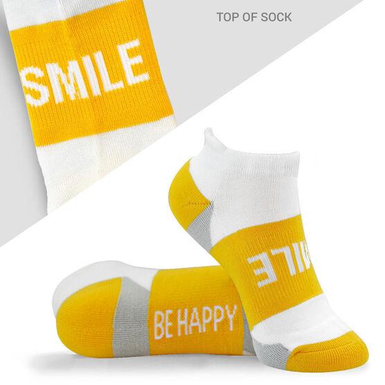 Socrates® Woven Performance Socks Smile (Yellow)
