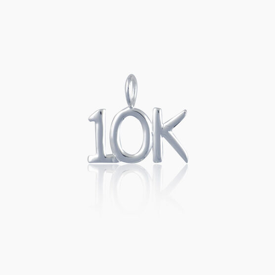 Sterling Silver 10K Charm