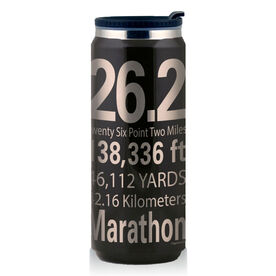 Stainless Steel Travel Mug 26.2 Math Miles