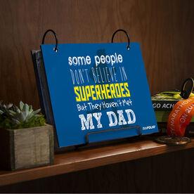 BibFOLIO® Race Bib Album - Some People Don't Believe In Superheroes