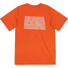 Men's Running Short Sleeve Tech Tee - North Dakota State Runner