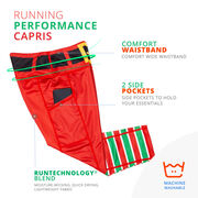 Running Performance Capris - Elf