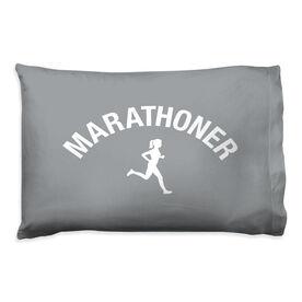 Running Pillow Case - Marathoner Girl