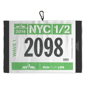 Running Workout/Golf Towel Race Bib