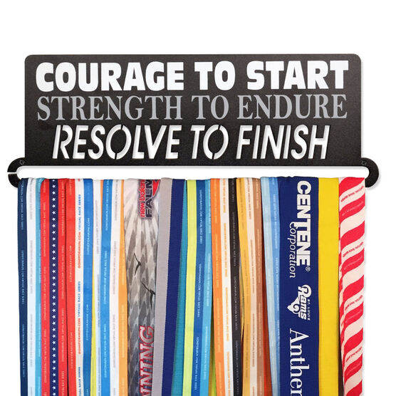 Race Medal Hanger Courage To Start MedalART