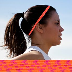 Bunji BAND Elastic Headbands for Athletes - Petunia