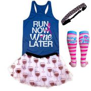 Will Run For Wine Running Outfit