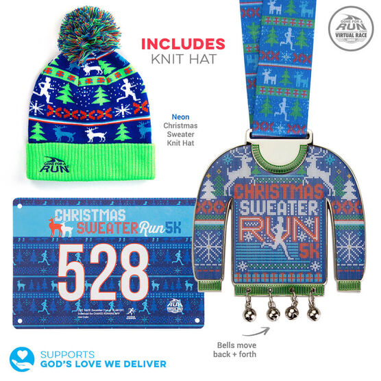 Virtual Race - Christmas Sweater Run 5K (2019)