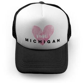 Running Trucker Hat Run Michigan