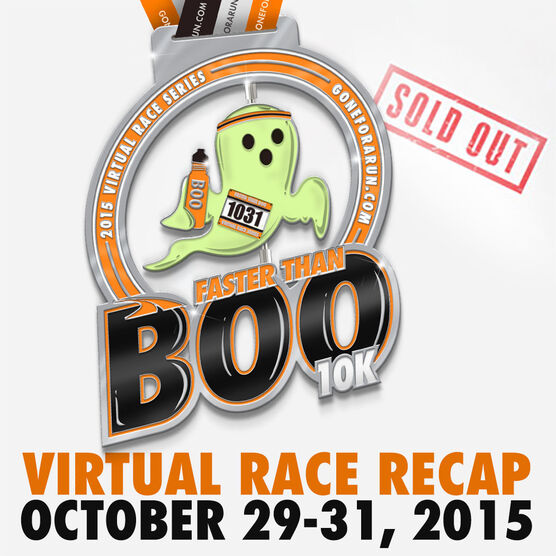 Faster Than Boo Virtual 10K - Basic Package