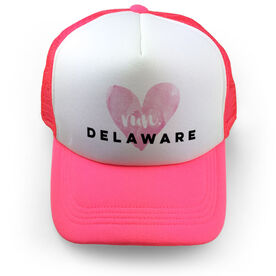 Running Trucker Hat Run Delaware