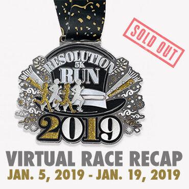 Virtual Race - Resolution Run 5K (2019)