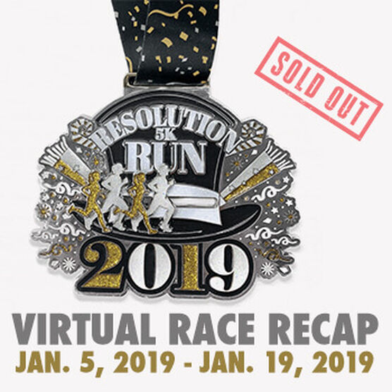Virtual Race - Resolution Run 5K (2019)