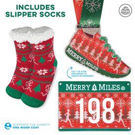 Virtual Race - Merry 4 Miles Slipper Socks (2021)