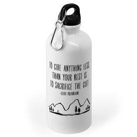 Running 20 oz. Stainless Steel Water Bottle - To Give Anything Less