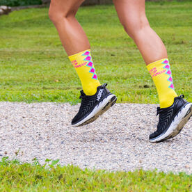 Socrates® Mid-Calf Performance Socks - Suck It Up Buttercup