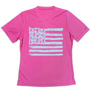 Women's Short Sleeve Tech Tee - United States Of Hikers