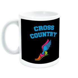 Cross Country Coffee Mug Winged Foot
