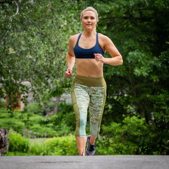 Running Performance Capris - Camo