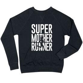 Running Raglan Crew Neck Sweatshirt - Super Mother Runner