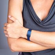 Running Adjustable Stainless Steel Magnetic Bracelet - Medic Alert with Information