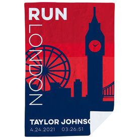 Running Premium Blanket - Personalized Run London
