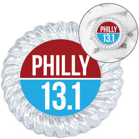 Running Shoelace Charm - Philly 13.1