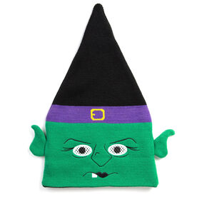 Happy Hatter Witch Beanie Hat & Mask