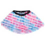 Runner's Printed Tutu One Awesome Mother Runner