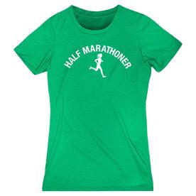 Women's Everyday Runners Tee - Half Marathoner Girl